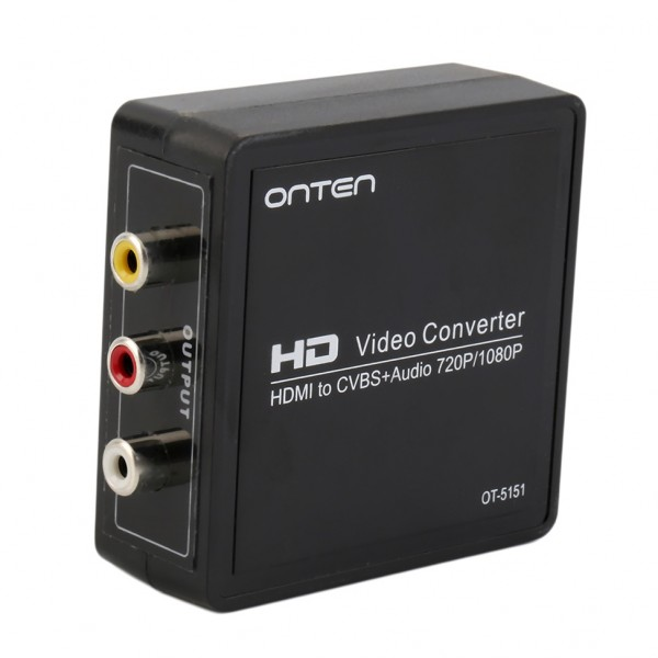 how to connect hdmi to rca tv