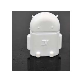Android Robot Shape Micro USB OTG Host Adapter