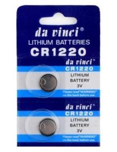 2x Pilhas 3V Lítio CR1220 BR1220 DL1220 ECR1220 LM1220
