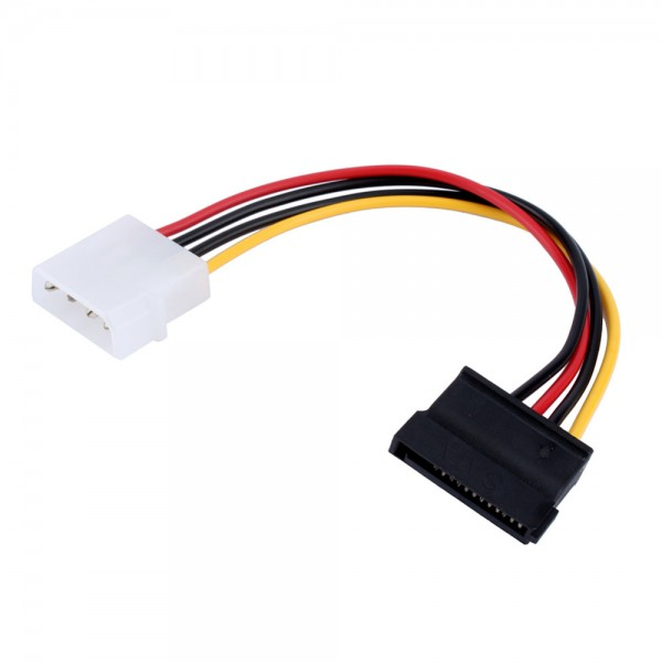 242 4 Pin Ide Molex Male To 15 Pin Serial Ata Sata Hard Drive Adapter Power Cable on usb wireless adapter for mac