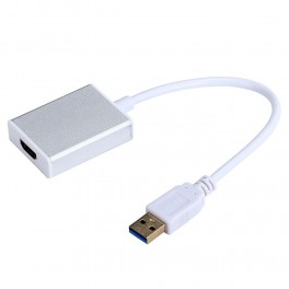 USB 3.0 To HDMI Graphic Adapter Converter With Cable For HDTV LCD PC Laptop Audio Video