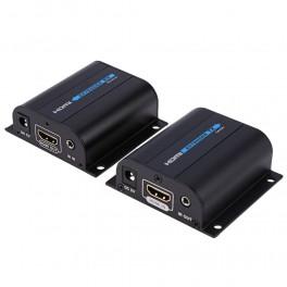 Extensor HDMI via 1x Cabo de Rede UTP CAT5E/6 até 60M c/ IR