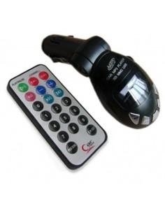 Reproductor MP3 del Coche Transmisor de Radio Inalámbrico FM Tarjeta USB SD MMC
