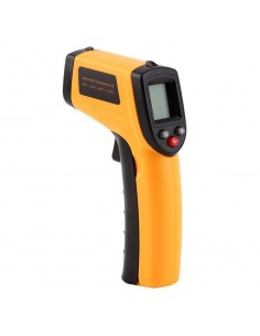 Medidor Laser IR de Temperatura / Termómetro Digital de Mão sem contato