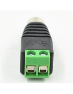 Adaptador RCA Hembra para cables Audio DC