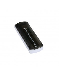 Lecteur USB 2.0 de Carte Multi-Mémoire RS-MMC MS SD TF MMC SDHC MiniSD XD