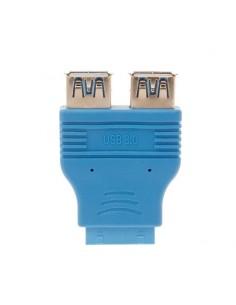 Adaptateur Carte mère de 20 pinos pour 2x USB 3.0 Fêmea
