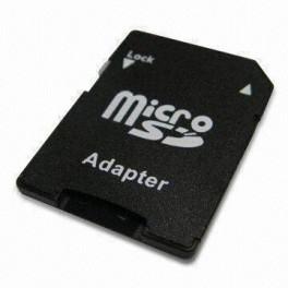 Adaptador de Cartão de Memória Micro SD p/ SD