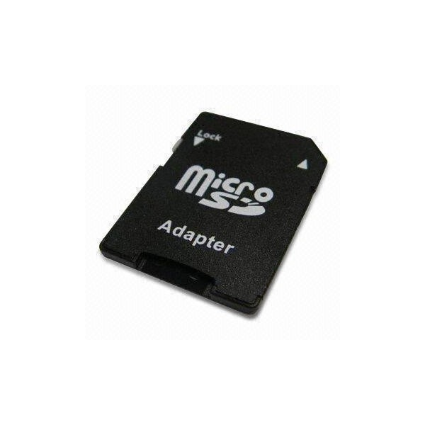 adaptateur de carte m moire micro sd pour sd. Black Bedroom Furniture Sets. Home Design Ideas