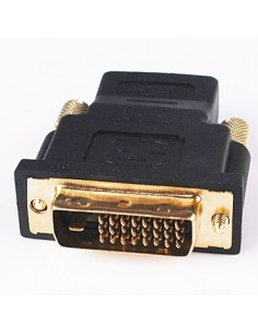Adaptador DVI-D Macho p/ HDMI Femea