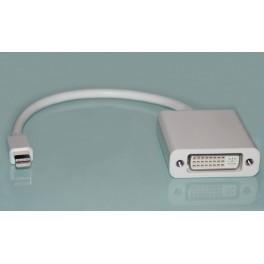 Cabo adaptador Mini Displayport (Macbook Apple) p/ DVI