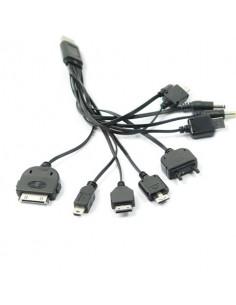 Cabo Universal para Carregar Telemóveis por USB