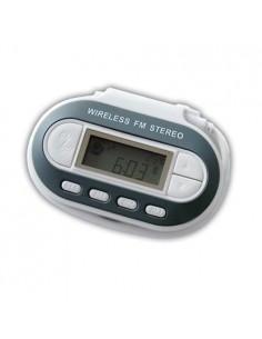 Transmissor FM Wireless p/ Leitores MP3 (BRANCO)