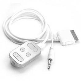 Comando com fio para iPOD/iPhone