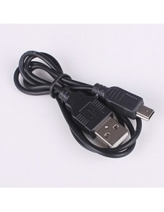 Cabo de Dados USB-A para Mini-B para MP3, Cameras, etc.
