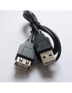 Cabo USB Extensão (Macho/Femea) 70CM