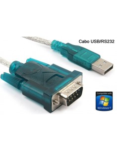 Cable Adaptador USB a RS232 Serial 9Pin DB9 PC PDA GPS
