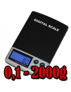 Balança Digital Portátil 0.1g - 2kg