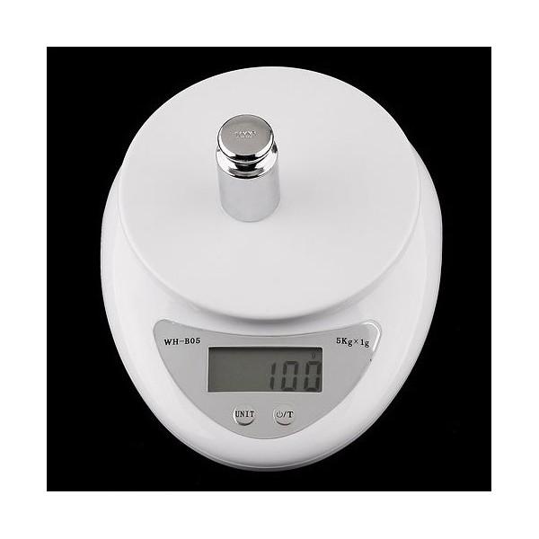 Balance de cuisine 5000g 1g 5kg electronique p se - Balance de cuisine precision 0 1g ...
