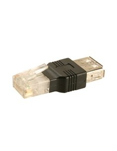 Adaptador RJ45 macho a USB hembra Red LAN Ethernet
