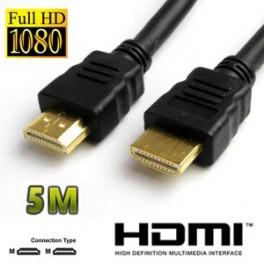 Cabo HDMI 1.3 Dourado 1080P (3 METROS)