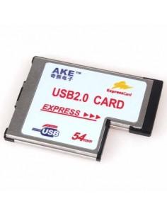 Placa ExpressCard 54mm 2 x USB 2.0 / Express Card