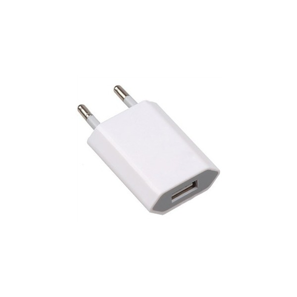 Chargeur adaptateur usb mural pour iphone 4 ipod samsung for Chargeur mural iphone