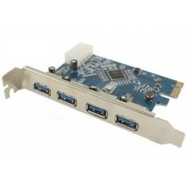 Placa PCI-E com 4 Portas USB 3.0 (PCI Express / 4x USB)