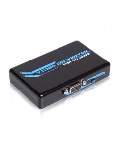 Conversor PC (VGA + Audio) para HDMI HDTV 1080P V1.3