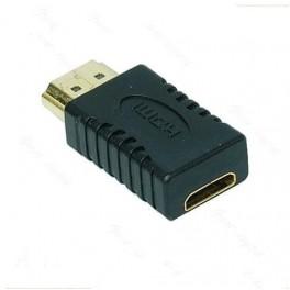 Adaptador / Conversor Mini HDMI Femea p/ HDMI Macho