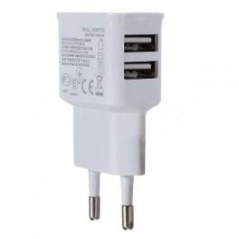 Carregador Dupla USB de parede para iPOD, Leitores MP3