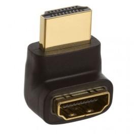 Adaptador / Conversor HDMI Femea p/ HDMI Macho em L
