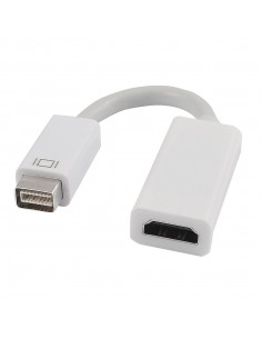 Cabo adaptador Mini DVI para HDMI (Macbook iMAC Apple)