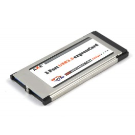 Placa ExpressCard 34mm 2 x USB 3.0 / Express Card 5Gbps