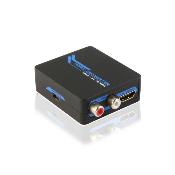 Convertidor Video Componente Ypbpr Rgb Audio Para Hdmi P