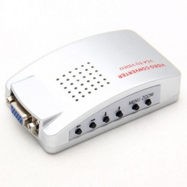 Conversor Universal VGA para TV - Veja seu PC na TV